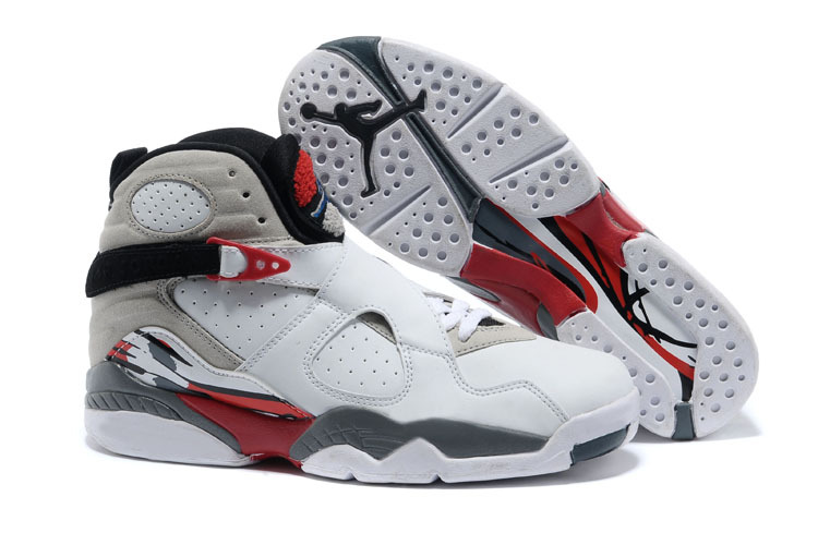 2017 Air Jordan 8 Retro Bugs Bunny White Black-True Red For Sale