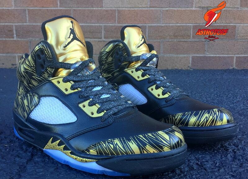the latest 2b6a6 fc251 2017 Cheap Air Jordan 5 Wings Olympic Gold Medal For Sale