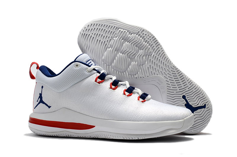 2017 Jordan CP3.X AE White University Red Midnight Navy For Sale