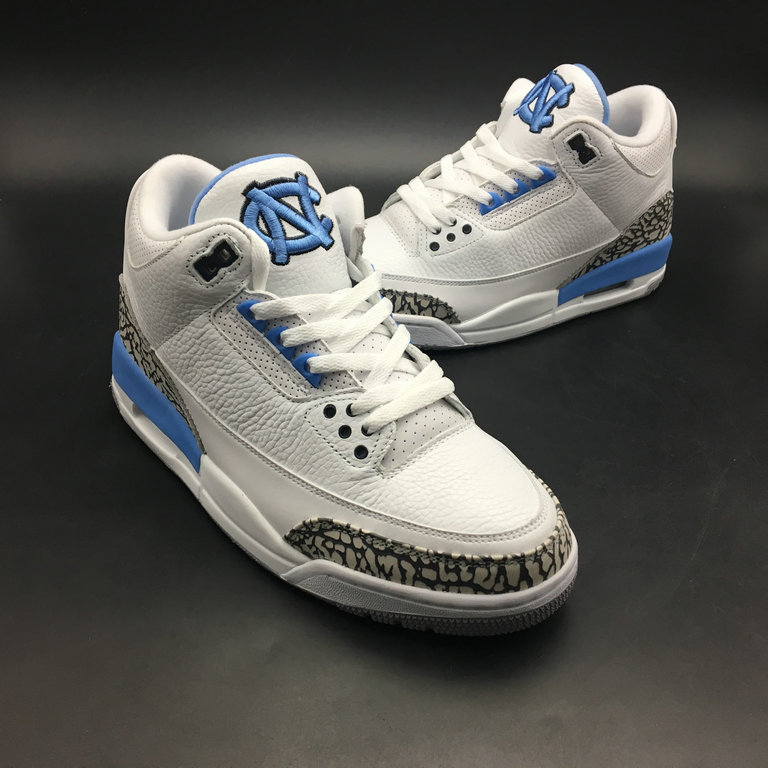 2018 Cheap Air Jordans Retro 3 Pantone White