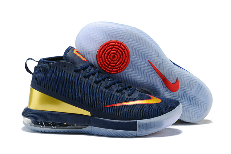 2018 Cheap Nike Air Max Dominate Gold Navy Blue Red