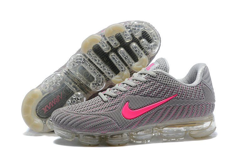 best service f6e26 50515 shop nike sporting air max 2018 women grey pink 0c001 37995