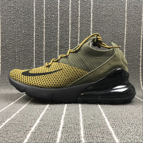 2018 NikeLab Air Max x Cheap Womens Nike Air Max 270 Army Green Dark Green-Black Vert Fonce Vert Noir
