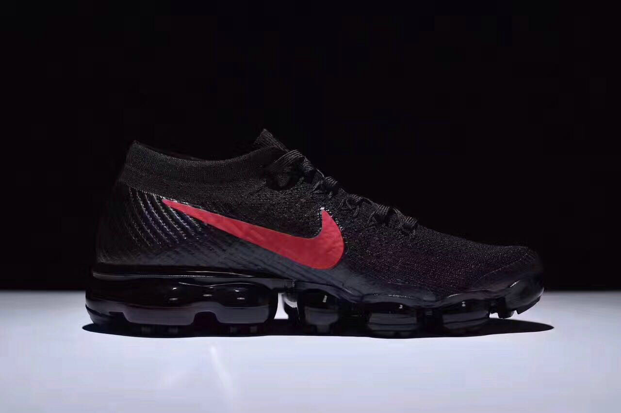 a459b70522a 2018 NikeLab VaporMax x Cheap Nike Air Vapormax Black-Dark Team Red ...