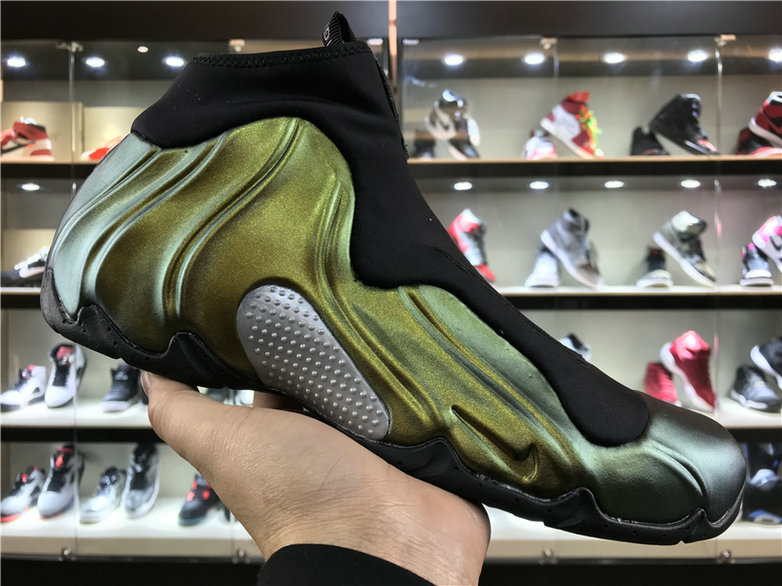 2018 Nike Flightposite x Cheap Nike Air Flightposite One Champaign Gold