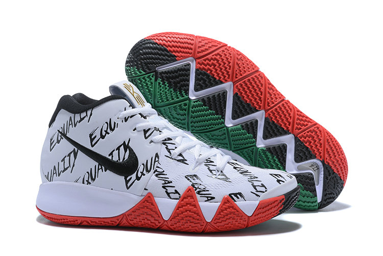 low priced 72457 ae5e9 2018 Nike Kyrie Shoes x Cheap Kids Kyrie 4 BHM Multi-Color-Multi-