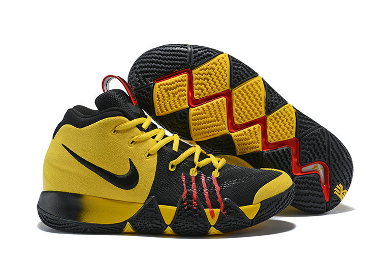 quality design 262f0 10338 2018 Nike Kyrie Shoes x Cheap Nike Kyrie 4 Bruce Lee Yellow ...