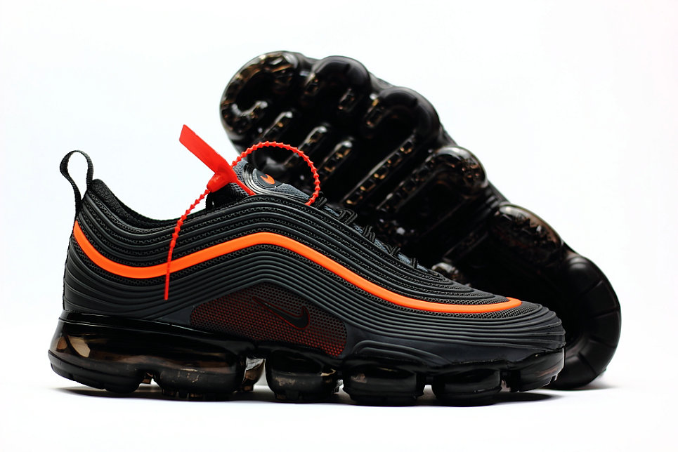 2018 New Arrival Nike Air VaporMax 97 Orange Black - Cheap Nike Air ... 76e8736e0