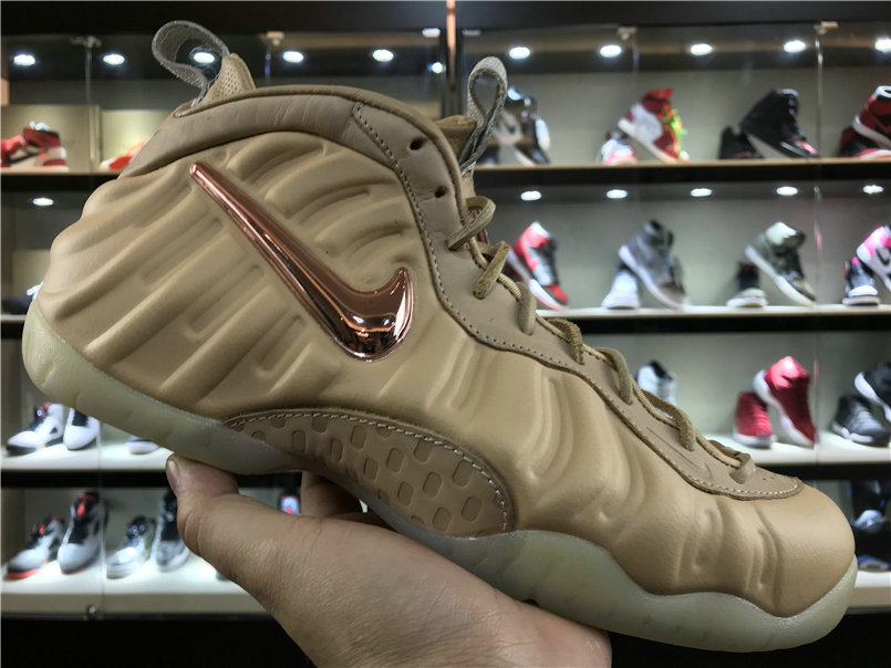 7d0ce0def5b4 2018 Nike Foamposite x Cheap Nike Air Foamposite Pro Vachetta Tan ...