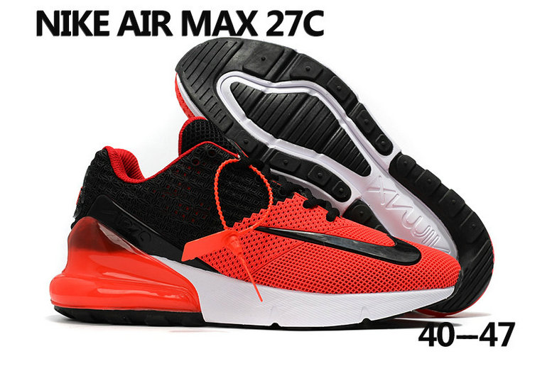size 40 26fb4 00aa9 2018 Nike Air Max 270 Rubble Patch Red White Black Cheap ...
