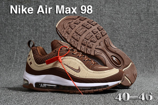 0a33572dffa 2018 Womens Nike Air Max 98 Colorways Blue Red White Black Cheap ...