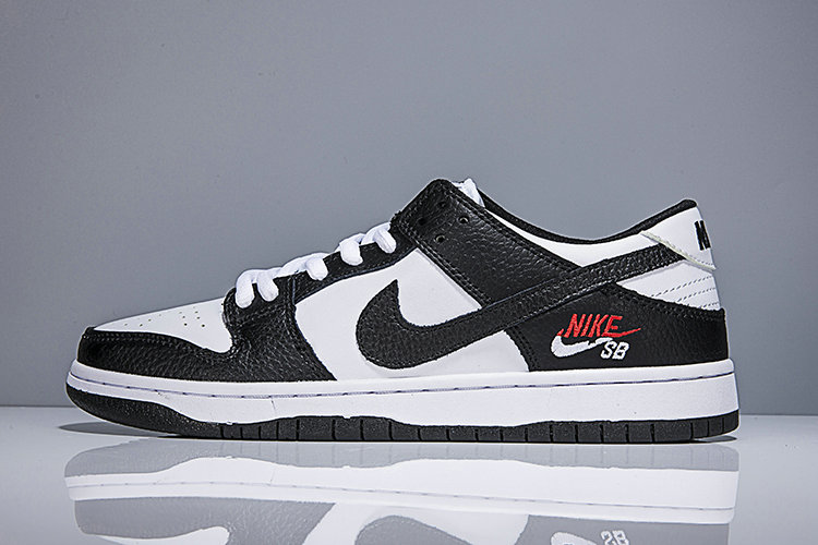 new products 24370 73f4a 2018 Nike SB Dunk x Cheap Womens Nike Dunk Low Elite SB Black White