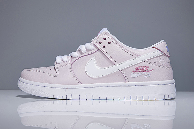 lowest price c7ad5 290f9 2018 Nike SB Dunk x Cheap Womens Nike Dunk Low Elite SB Pink White