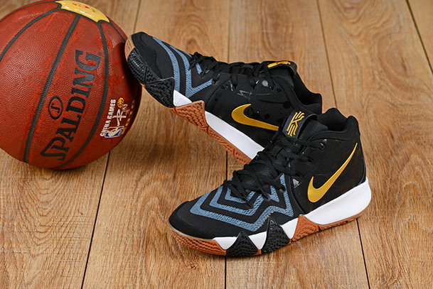 2018 Nike Kyrie Irvings 4 Gold Black Blue White Cheap Sale