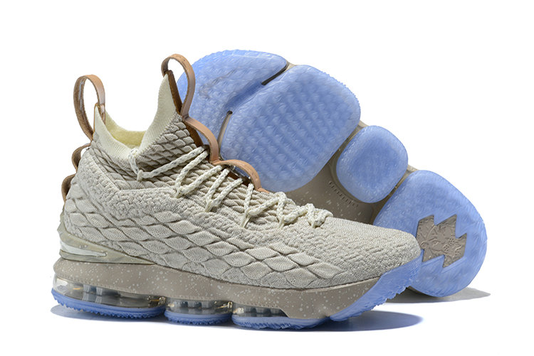 e94cd834d67b37 2018 Nike Lebron Shoes x Cheap Nike LeBron 15 Ghost String Vachetta Tan-Sail