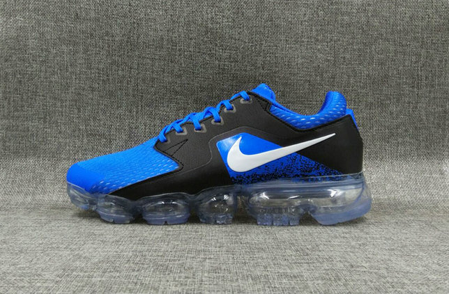 598fc16821236 2018 Womens Nike Air VaporMax CS Blue Black Cheap Sale - Cheap Nike ...