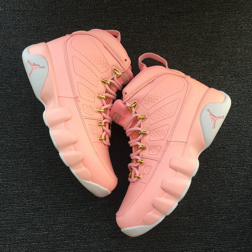 womens Air jordan 9 2018 Cheapest Sale Nike Air Jordans 9 (IX) Retro Pink For Womens ...