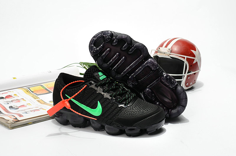 9f815f61cfecb 2018 Cheapest Sale Nike Air VaporMax For Kids Pink Grass Green ...