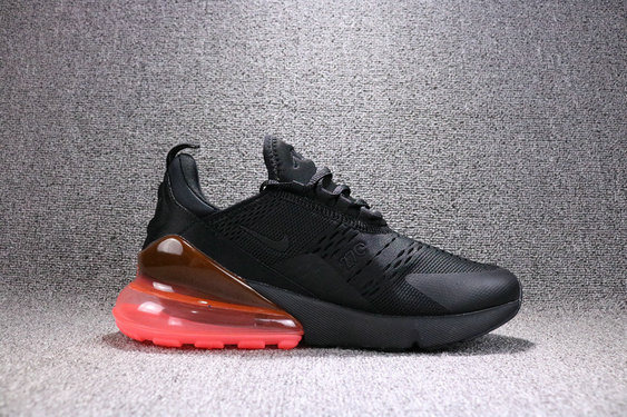 2018 Cheapest Sale Nike Air Maxs 270 Mens Black Pink Brown