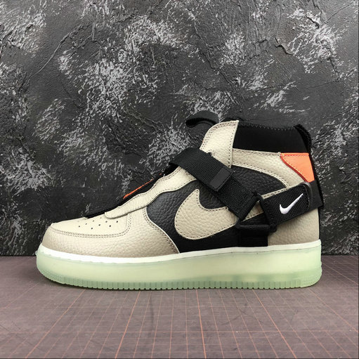 2019 Nike Air Force 1 Mid Utility Spruce Fog Trainers For Sale