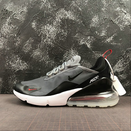 2019 Cheap Nike Air Max 270 Light Gray Black Red Noir Rouge
