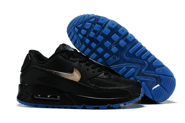 2019 Cheap Nike Air Max 90 Rose Gold Black Blue Cheap Nike