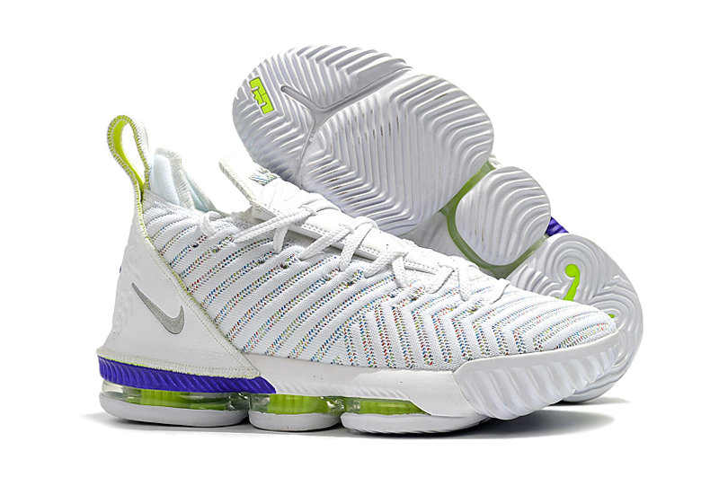 eaceb3b1346267 2019 Cheap Nike LeBron 16 Buzz Lightyear AO2588-102 White-Multi-Color-