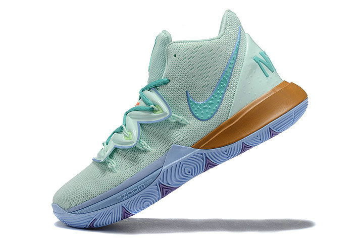 Where To Buy 2019 Nike Kyrie 5 Squidward Frosted Spruce Aluminum CJ6951-300