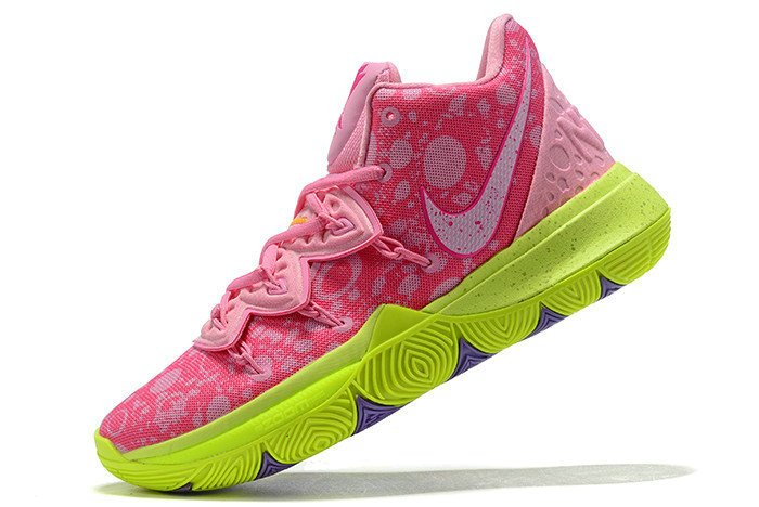 Where To Buy 2019 SpongeBob SquarePants x Nike Kyrie 5 Patrick Star Lotus Pink University Red Womens Size CJ6951-600