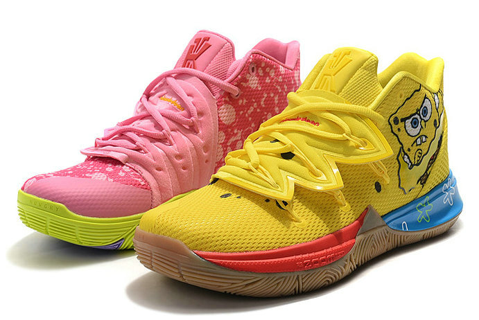 Where To Buy 2019 SpongeBob SquarePants x Nike Kyrie 5 What The SpongeBob Patrick Star