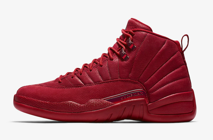 2019 Where To Buy Cheap Nike Air Jordan 12 Bulls Gym Red Black 130690-601