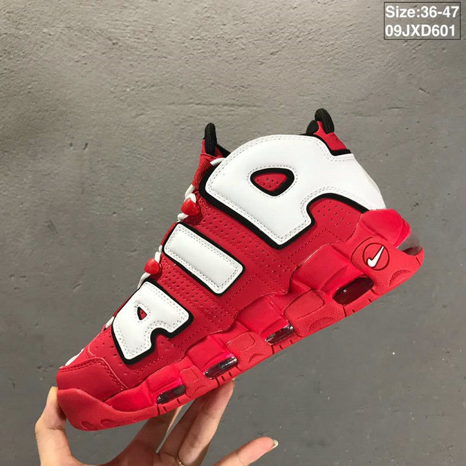 2019 Where To Buy Cheap Nike Air More Uptempo University Red CD9402-600