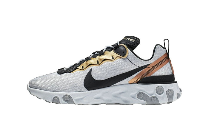 2019 Where To Buy Cheap Nike React Element 55 Lucid Platinum CD7627-001