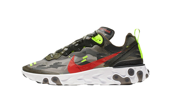 2019 Where To Buy Cheap Nike React Element 87 Black CJ4988-200