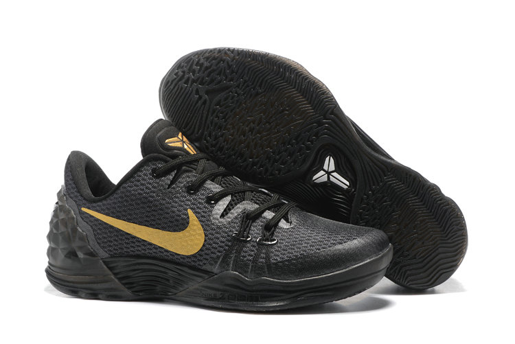 2019 Where To Buy Cheap Nike Zoom Kobe Venomenon 5 EP Bargain Black Gold 749884 008