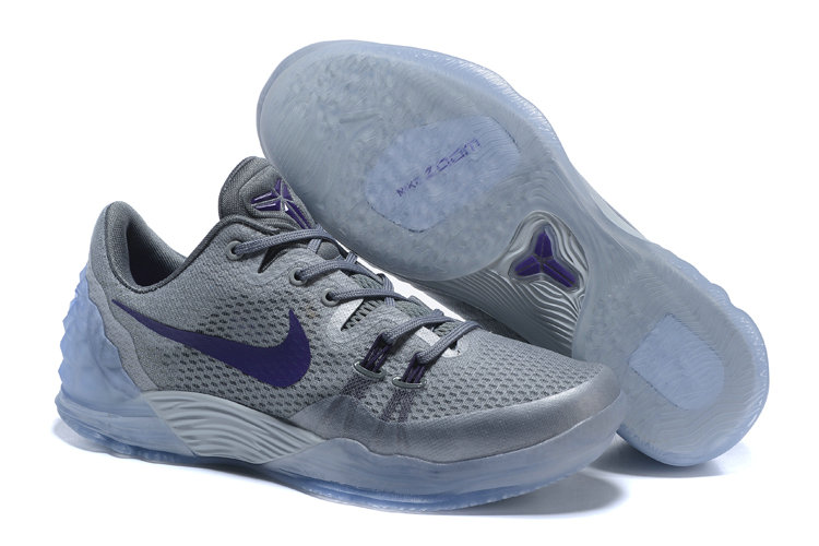 2019 Where To Buy Cheap Nike Zoom Kobe Venomenon 5 EP Gray Purple 815757-050