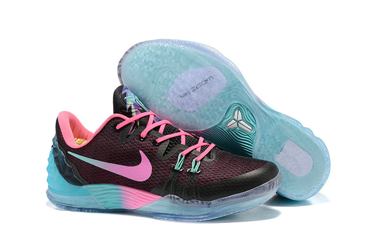 2019 Where To Buy Cheap Nike Zoom Kobe Venomenon 5 EP South Beach Blue Black Pink 815757-083