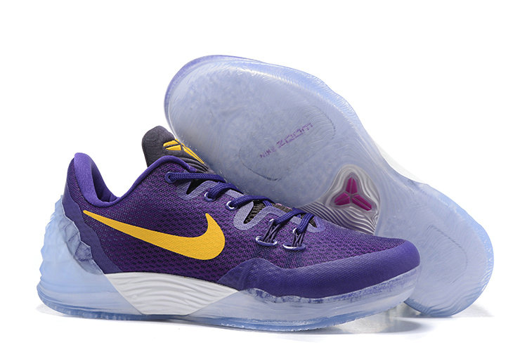 2019 Where To Buy Cheap Nike Zoom Kobe Venomenon 5 Lakers 853939-570