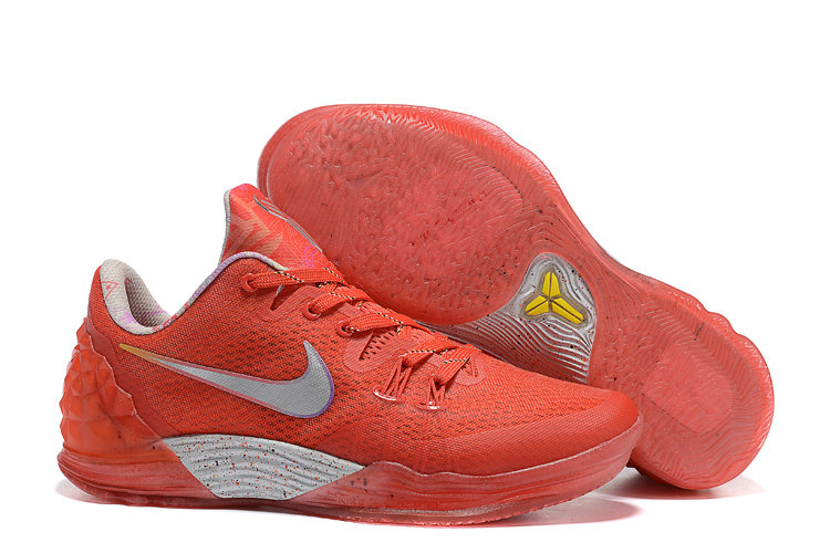 2019 Where To Buy Cheap Nike Zoom Kobe Venomenon 5 Rise LMTD Light Crimson Multi-Color 815819-690