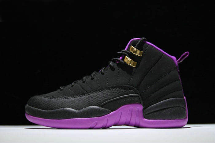 Where To Buy 2020 Air Jordan 12 GS Hyper Violet Black Metallic Gold Star-Hyper Violet 510815-018