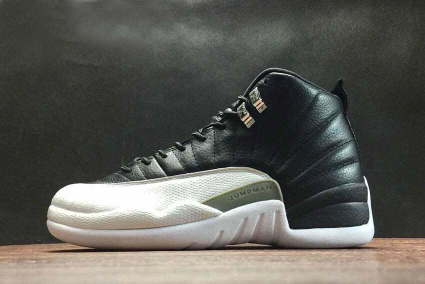Where To Buy 2020 Air Jordan 12 Retro Playoffs Black White-Varsity Red Mens and Womens Size 130690-001