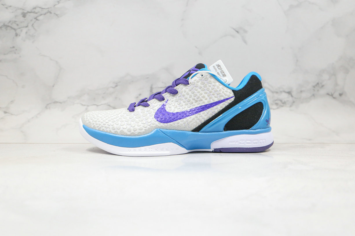 2020 Cheapest Nike Zoom Kobe VI 6 Draft Day Grey Purple 429659-102