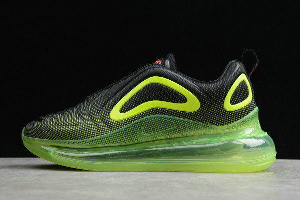nike air max black and lime green