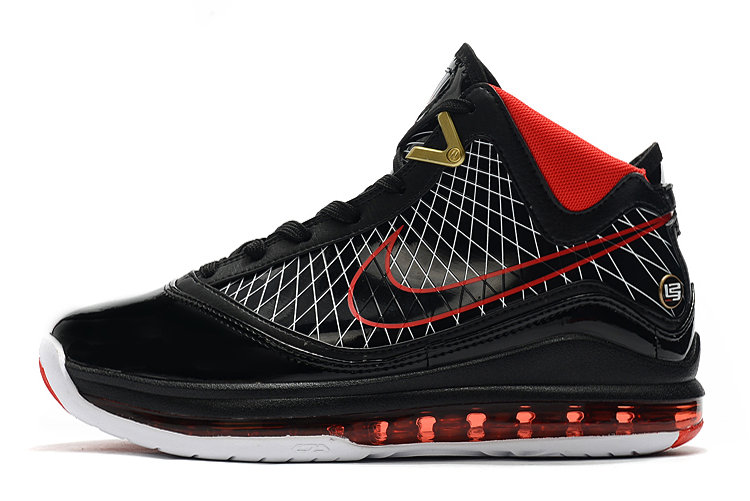 Where To Buy 2020 Nike LeBron 7 Black Varsity Red-White For Sale