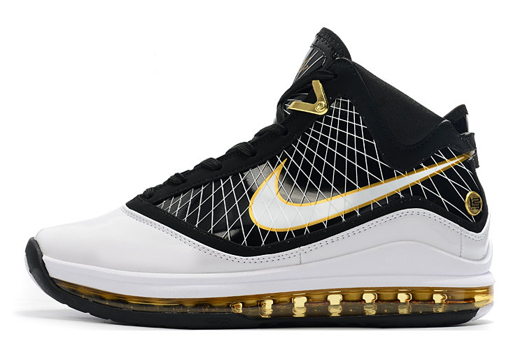 Where To Buy 2020 Nike LeBron 7 Black White Gold For Sale