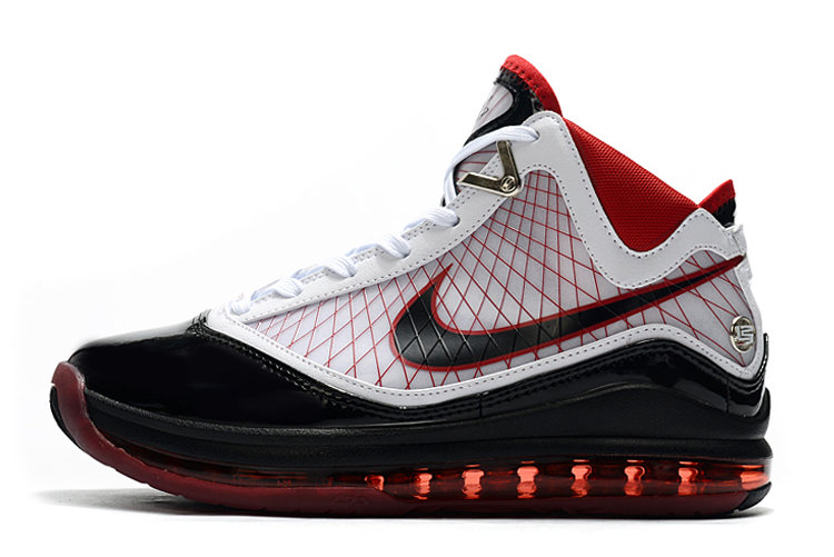 Where To Buy 2020 Nike LeBron 7 Cleat White Black Red For Sale
