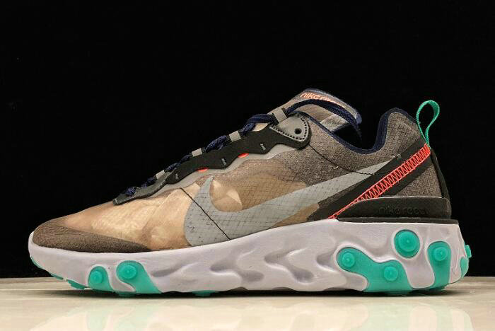 Where To Buy 2020 Nike React Element 87 Neptune Green AQ1090-005 For Sale