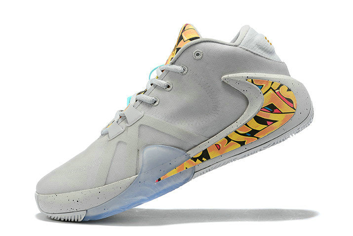 Where To Buy 2020 Nike Zoom Freak 1 Graffiti Metallic Silver Metallic Silver BQ5633-005 For Sale
