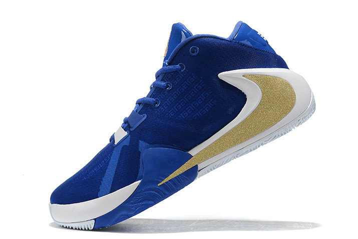 Where To Buy 2020 Nike Zoom Greek Freak 1 Royal Blue White-Metallic Gold For Sale