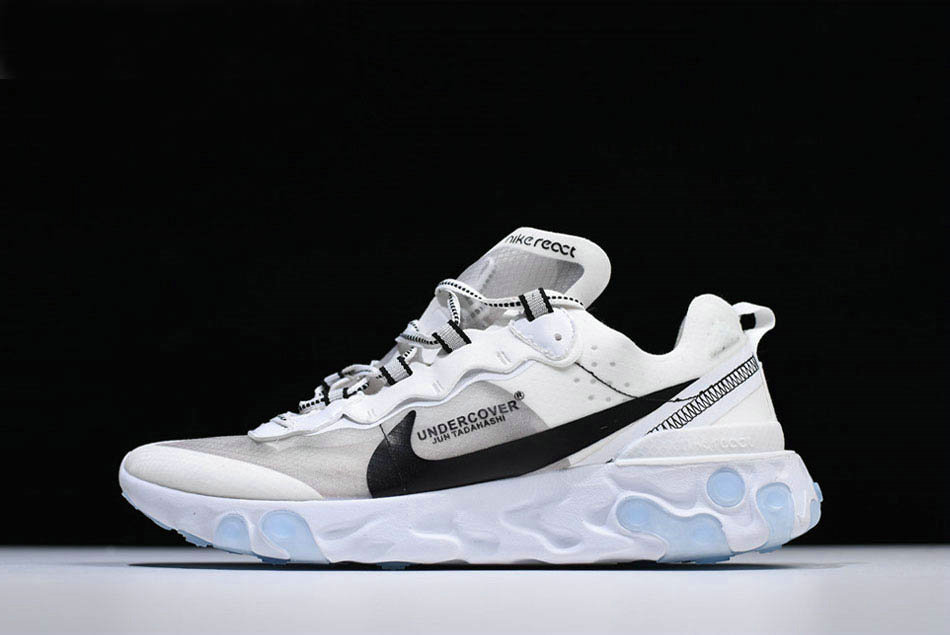 Where To Buy 2020 Undercover x Nike React Element 87 White Grey Black Shoes Free Shipping